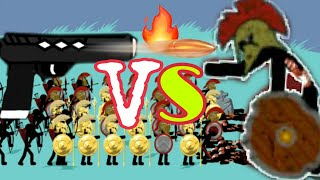 Spearton classic + golden and ARCHIDON lava Vs My Zombies 😂 Stick war legacy