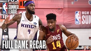 CAVALIERS vs KINGS | Malik Newman Shines in OT Thriller | MGM Resorts NBA Summer League