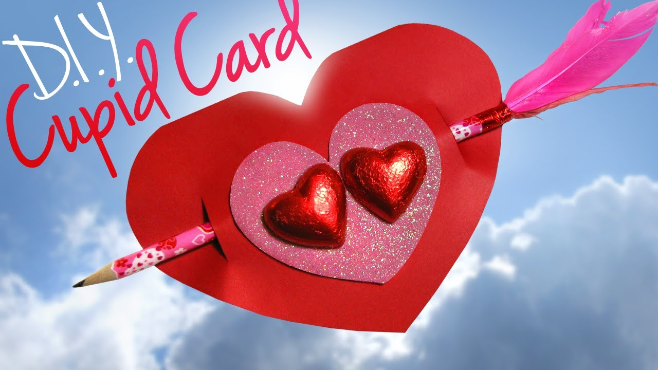 Diy Cupid Valentine S Day Card Teacher Gift Ideas For Kids