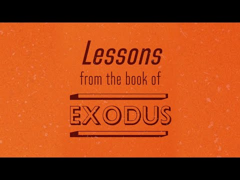 Lessons From the Book of Exodus - Tony Evans