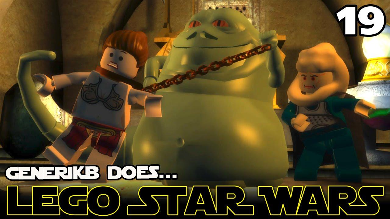 Lego Star Wars The Complete Saga Ep 19 Jabba The Hutt
