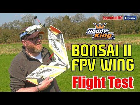 H-KING BONSAI II EPP FPV RC flying wing: ESSENTIAL RC FLIGHT TEST - UChL7uuTTz_qcgDmeVg-dxiQ