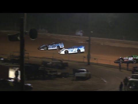 602 Late Model at Lavonia Speedway April 23rd 2021 - dirt track racing video image