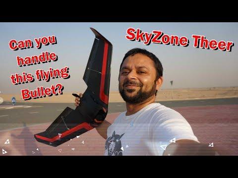 Skyzone Theer FPV Racing Wing Super Fast Maiden Flight - UCsFctXdFnbeoKpLefdEloEQ