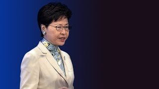 Live: HK Chief Executive Carrie Lam speaks to the press on the day of planned mass strikes