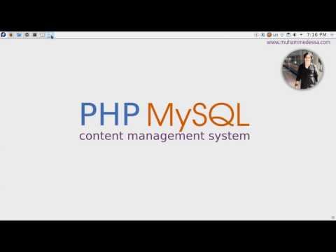 2   PHP & MySQL CMS algorithm