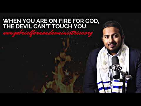 WHEN YOU ARE ON FIRE FOR GOD, THE DEVIL WILL STRUGGLE TO PULL YOU DOWN, POWERFUL MESSAGE & PRAYER