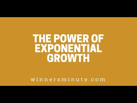 The Power of Exponential Growth // The Winner's Minute With Mac Hammond