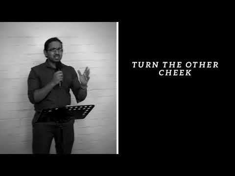 TURN THE OTHER CHEEK, AND GOD WILL FIGHT FOR YOU, POWERFUL MESSAGE AND PRAYER