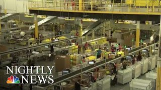 Some Amazon Workers Go On Strike As Prime Day Begins   NBC Nightly News