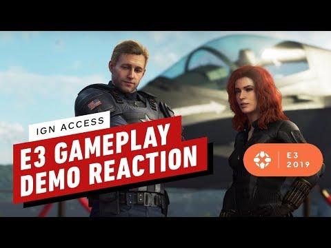 Marvel's Avengers Gameplay Reactions! - IGN Access - UCKy1dAqELo0zrOtPkf0eTMw
