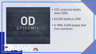 Work not done as nationwide OD deaths down