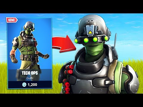 New Tech Ops Soldier Skin! (Fortnite Battle Royale) - UC2wKfjlioOCLP4xQMOWNcgg