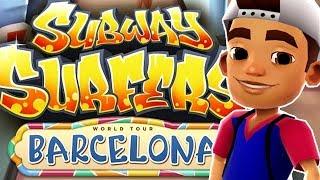 Subway Surfers - World Tour: Barcelona [iOS Gameplay, Walkthrough]