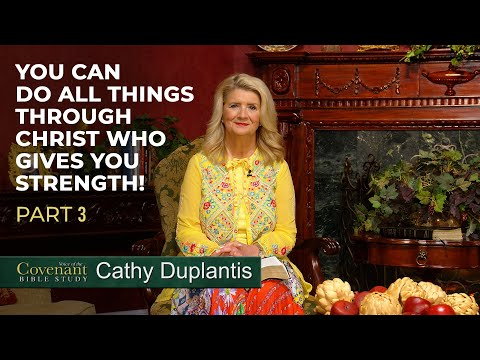 Voice of the Covenant Bible Study, April 2020 Week 3  Cathy Duplantis