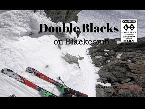 4K Blackcomb Double Blacks,  Bad Attitude and the Gullys From Spakny's