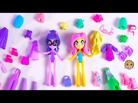 My Little Pony Clothing + Shoes Dress Up Sleep Over Slumber Party Video - UCelMeixAOTs2OQAAi9wU8-g