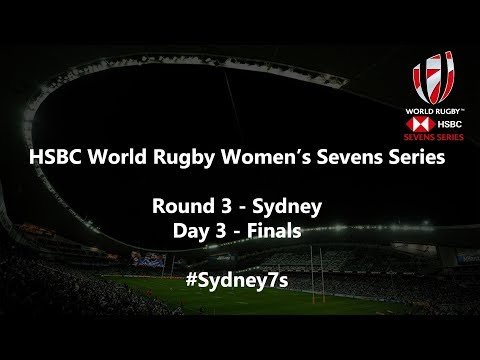 We're LIVE for day three FINALS of the HSBC World Rugby Women's Sevens Series in Sydney