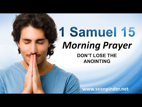 DONT LOSE the Anointing - Morning Prayer