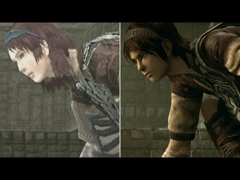 Shadow of the Colossus Graphics Comparison: PS2 vs. PS4 Pro - default