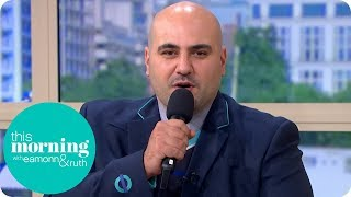 The Viral Train Announcer | This Morning