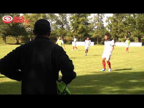 Latihan Perdana Pelita Jaya FC at Bola News Interview