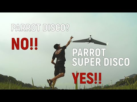 """Parrot """"SUPER"""" Disco (ARDUPLANE With Long Range Rc-LINK + Telemetry) - UCHQc22t_e8i5ITkIivQg7Ww"""