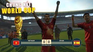 PES 19 | FIFA WORLDCUP FINAL | CHUNG KẾT | VIETNAM vs SPAIN - Giấc mơ Bóng Đá VIỆT NAM