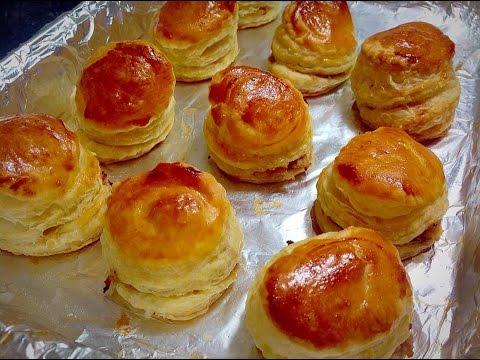 Chicken Patties (چکن پیٹیز) Chicken Puff Pastry Recipe By (HUMA IN THE  KITCHEN)