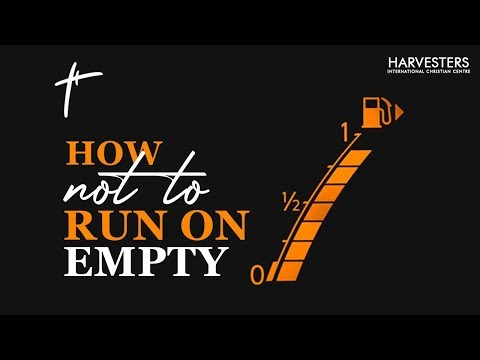 How Not To Run On Empty  Pastor Bolaji Idowu  26th July 2020
