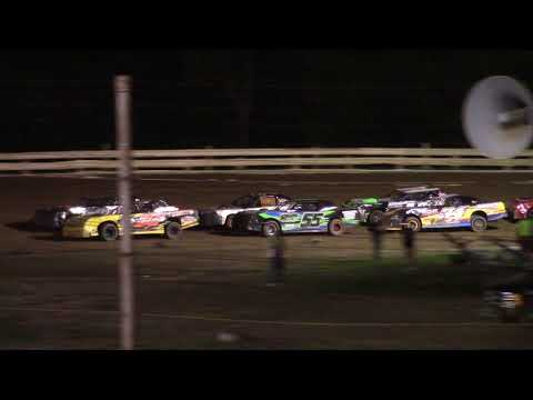 Hummingbird Speedway (8-14-21): Sunny 106.5 FM Pure Stock Feature - dirt track racing video image