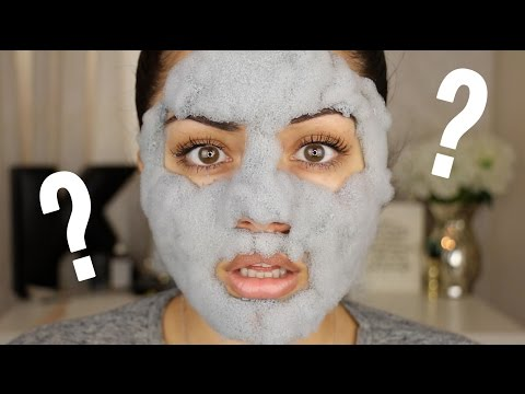 Bubble Clay Mask?! DOES IT WORK?! - default
