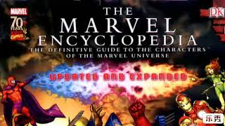 THE MARVEL ENCYCLOPEDIA-The definitive guide to the characters of the marvel universe.+628121434049