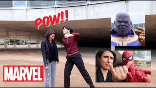 MARVEL CHARACTERS GONE WILD!