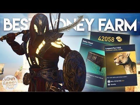 Assassin's Creed Origins | UNLIMITED MONEY & HEKA CHESTS FARM! - Best Money Farm In AC Origins - UCE5otBGahm673nMZn6nz5Fw