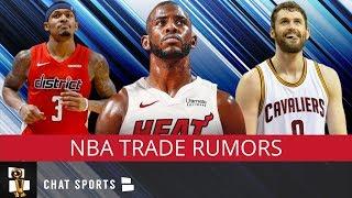 NBA Trade Rumors On Chris Paul, Bradley Beal, Cavs Keeping Kevin Love & Andre Iguodala's Future