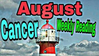 Cancer August2019 CHOICES GROWING PAINS A NEW PATH STARTING OVER WITHOUT BEING SCARED Tarot Reading