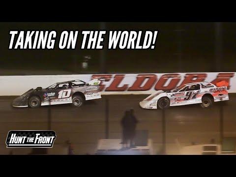 Racing Hard to Make the Show at Eldora Speedway's World 100 - dirt track racing video image