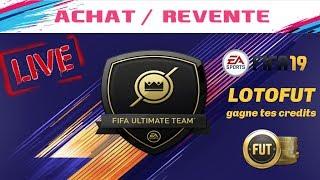 🔴LIVE FIFA 19- GO RÉCOMPENSE CLASH EQUIPE !!!LOTOFUT 20 000 crédits