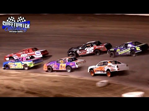 Sweetwater Speedway IMCA Stock Car Main Event 7/3/21 - dirt track racing video image