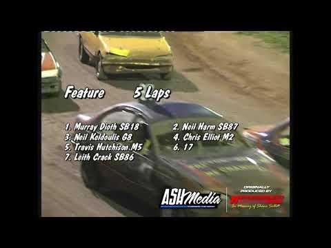 Street Sedans: A-Main - Kingaroy Speedway - 06.01.2007 - dirt track racing video image
