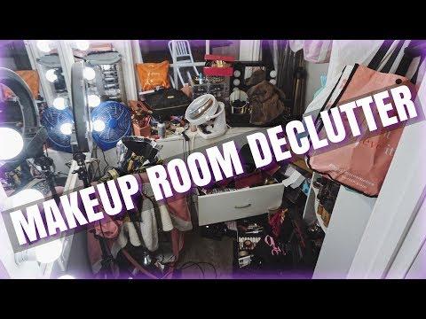 DECLUTTER & ORGANIZING MY MAKEUP ROOM!!! - UCAakD8jDdAya5f59XRfiIuQ