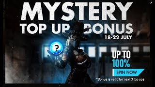 FF  MYSTERY TOP UP BONUS Event In Free Fire Full Details  And  Rank Mission EventbIn Free Fire