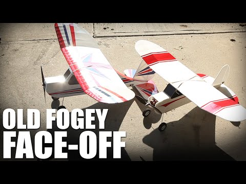 Flite Test | Old Fogey Face-Off - UC9zTuyWffK9ckEz1216noAw