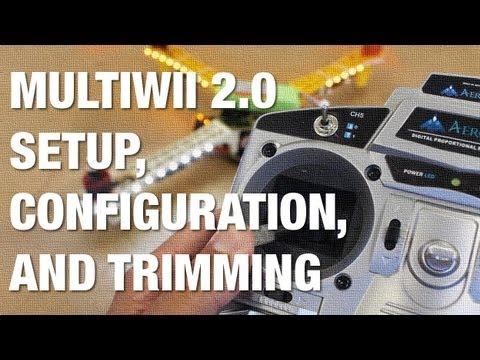 MultiWii 2.0 Firmware Load and Configuration for Acro and Autolevel on AeroSky Quadcopter - UC_LDtFt-RADAdI8zIW_ecbg