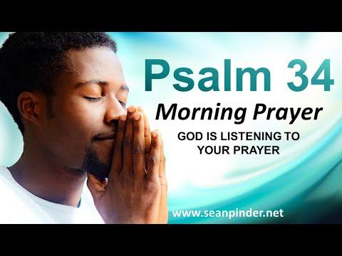 PSALM 34 - God is LISTENING to Your Prayer - Morning Prayer