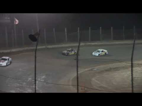 Compact A-Main from Moler Raceway Park, July 9th, 2021. - dirt track racing video image