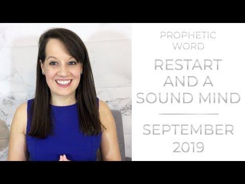 September Prophetic Word: Restart