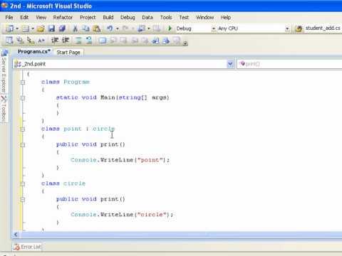 تعلم لغة برمجة سي شارب C# Learning in arabic الجزء 65