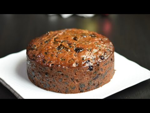 Super Moist Fruit Cake Recipe for Christmas /Simple and Easy Boiled Fruit Cake Recipe